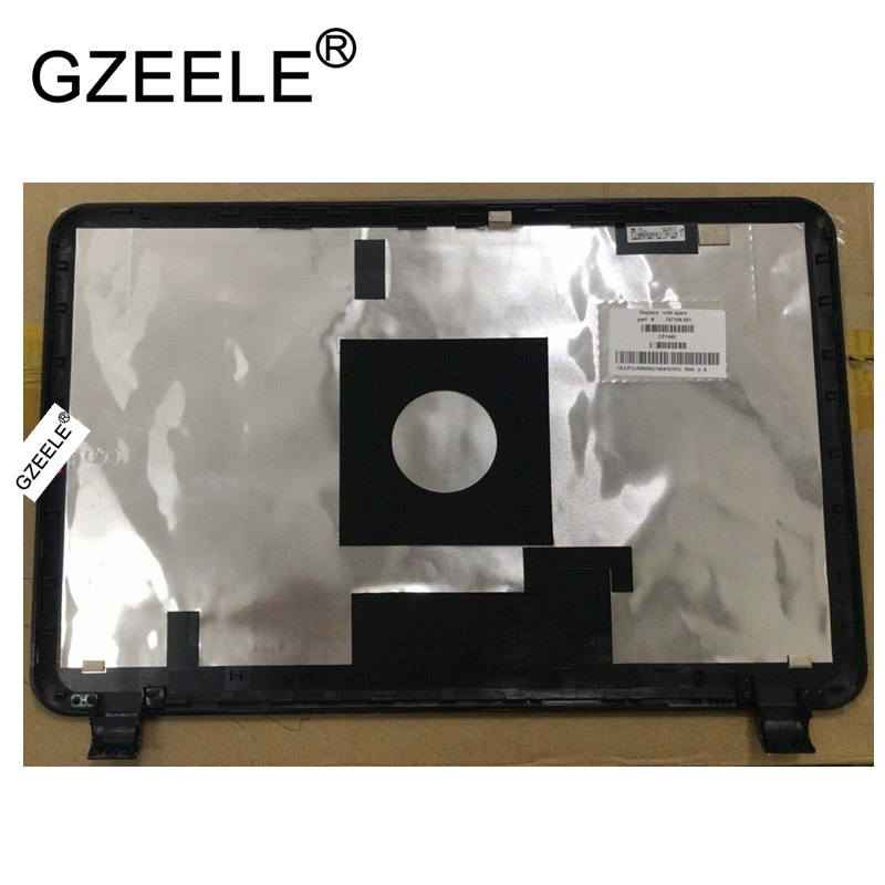 GZEELE new Top LCD Back Cover Rear Lid for HP 15-D 250 G2 Latop Replacement black lcd top case gzeele new laptop lcd top cover case for lenovo g570 g575 lcd back cover lcd rear lid top case black ap0gm000500