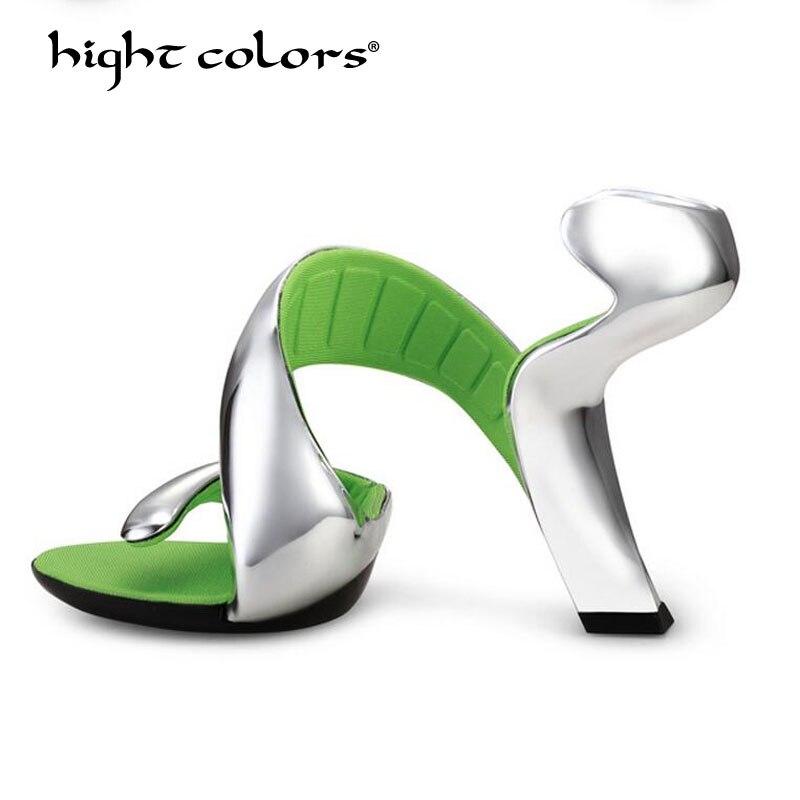Sandales Ouvert 2019 Femmes Hc55 Black Poisson Compensées Chaussures white De Bout Hauts forme Taille 39 Tête Femme silver Été Pour Nouvelle red Mode Talons Plate 35 Ewtx8qI