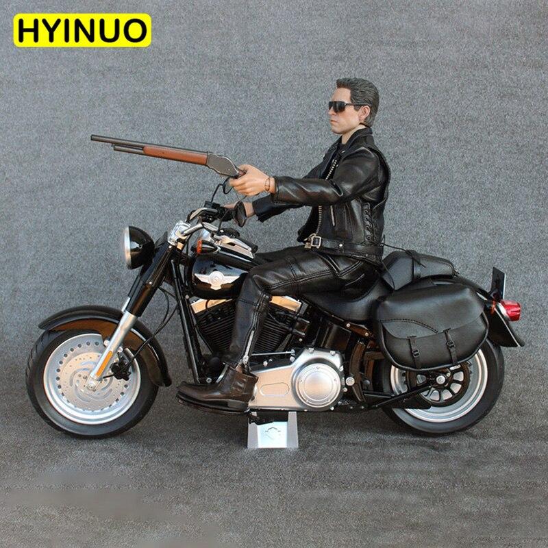 """1/6 escala Terminator T 800 doble tracción cool motocicleta 3 colores Modelo figura ajuste para 12 """"figuras de acción del cuerpo accesorios de muñecas-in Figuras de juguete y acción from Juguetes y pasatiempos    1"""