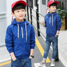 2018 spring children's clothing boy jacket large children casual fashion short windbreaker jacket tide