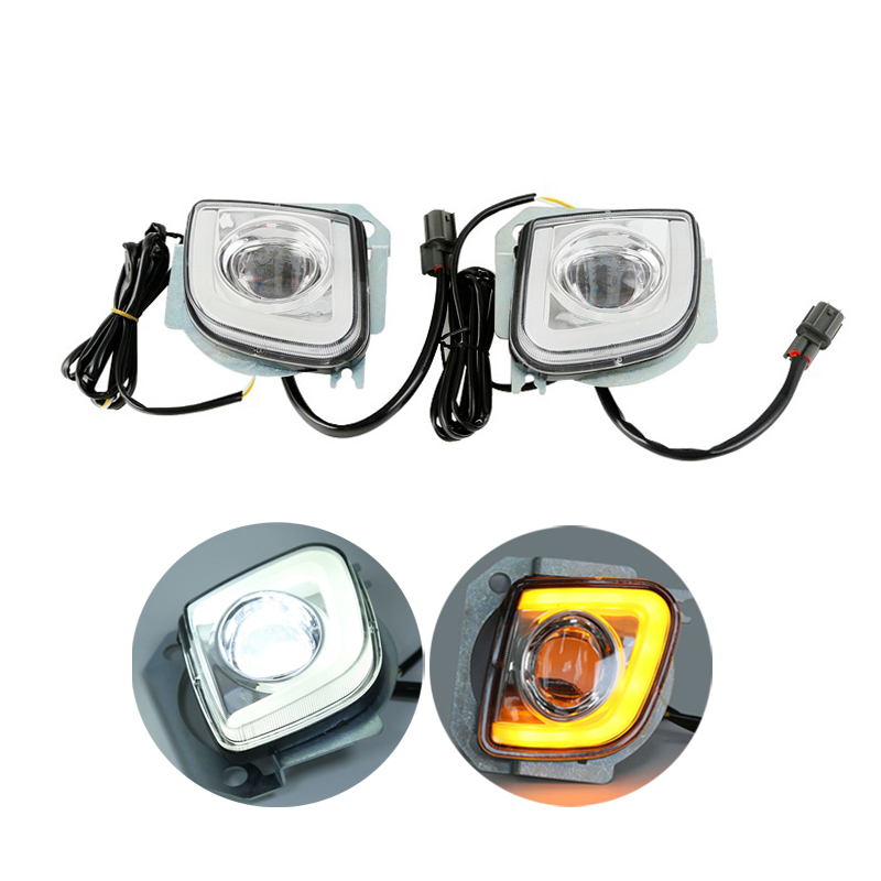 Motorcycle LED Turn Signal Driving Fog Light For Honda Goldwing GL1800 12-17 F6B Valkyrie front led turn signals smoke for honda goldwing gl1800 2001 2017 f6b 13 17 motorcycle
