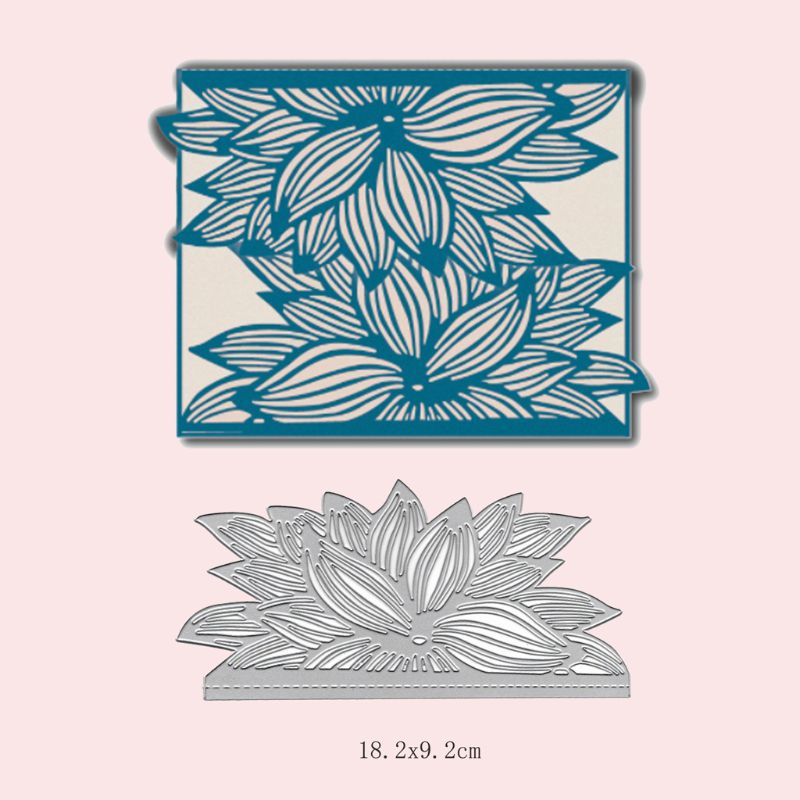 Leaf Metal Cutting Dies Stencil DIY Scrapbooking Album Stamp Paper Card Embossing Crafts Decor in Cutting Dies from Home Garden