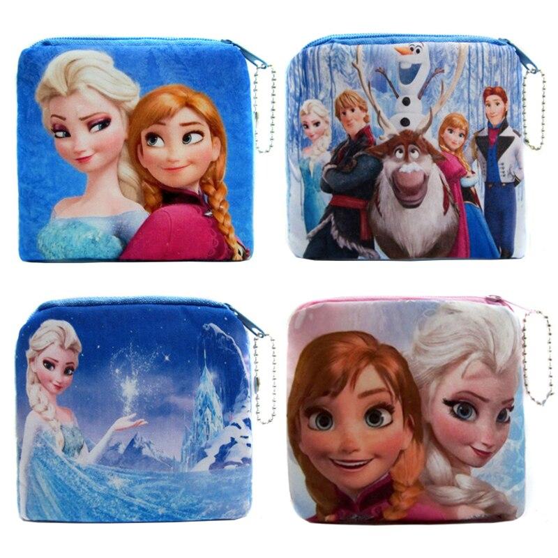 Hot Sale Cute Portable Cartoon Coin Bag Women Change Coin Purse Children Money Storage Case Girl's Plush Purses