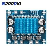 High HD Digital Audio Amplifier Board Dual Channel 2*30W MP3 Class D Amplifiers Module 12V 24V Expand The Soundboard For Speaker все цены
