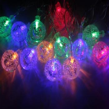 20pcs/lot 5M led string lights with 20led ball AC220V/110V holiday decoration lamp Festival Christmas lights outdoor lighting
