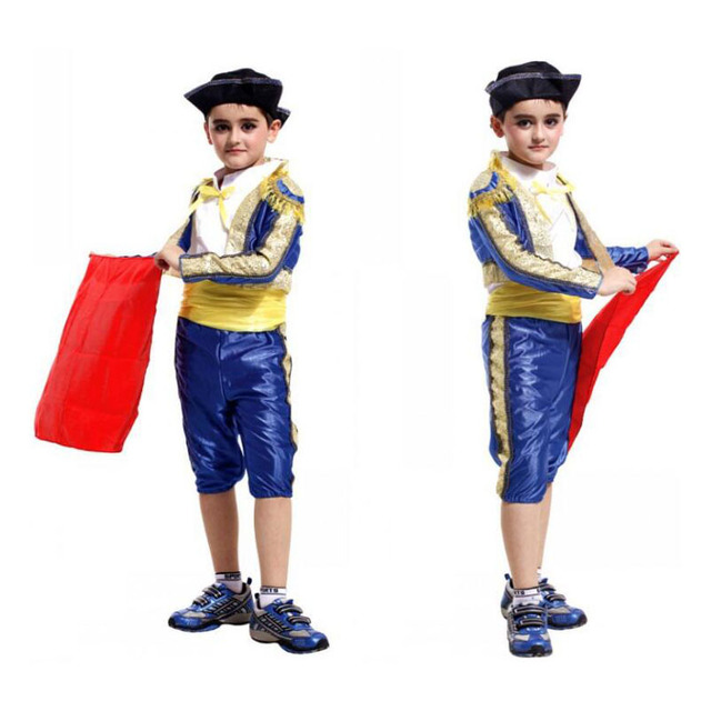 bbe6c5e0b Children s Spanish Matador Masquerade Cosplay Costume Halloween ...