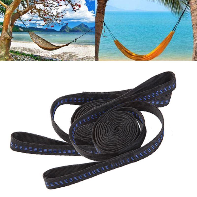 Adjustable Tree Hanging Hammock Safety Yoga Strap Hammock Rope Extension Belt