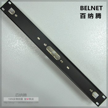 1U rack 110 voice patch panel 100 pairs voice module RJ11 telephone 19-inch rack frame Terminal Snap-In interfaces