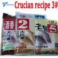 Herabuna рыболовная приманка-карась, Рецепт 3 #, приманка для ловли карпа, сладкий аромат, тесто, японский метод ловли рыбы-карася - фото