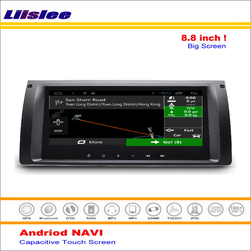 Liislee Car Android GPS NAVI Navigation System For BMW X5 E39 E53 M5 Radio Stereo Audio Video Multimedia ( No CD DVD Player ) yessun for mazda cx 5 2017 2018 android car navigation gps hd touch screen audio video radio stereo multimedia player no cd dvd