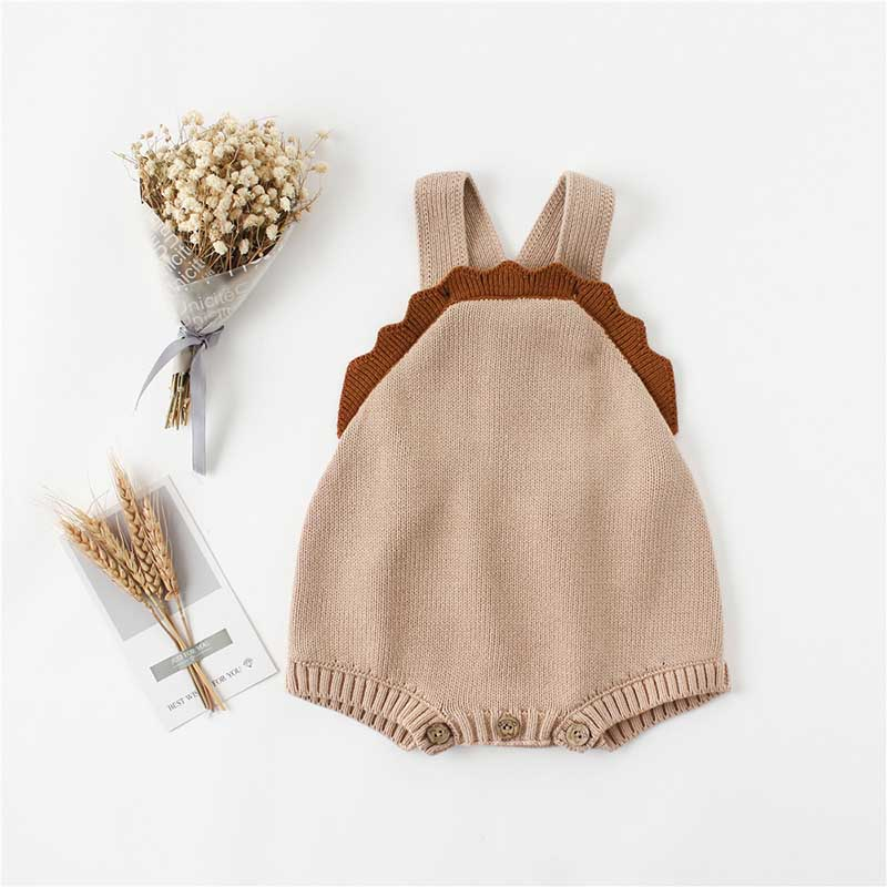 Baby Boys Girls Bodysuits With Woolen Ears Sweaters Buns Butterflies Conjoined Clothes Crawling Baby Jumpsuit Baby Rompers 5