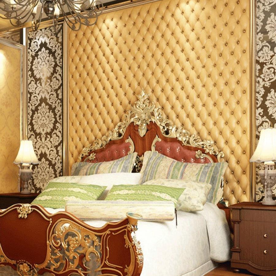 beibehang desktop wallpaper roll stereoscopic TV background bedroom ...