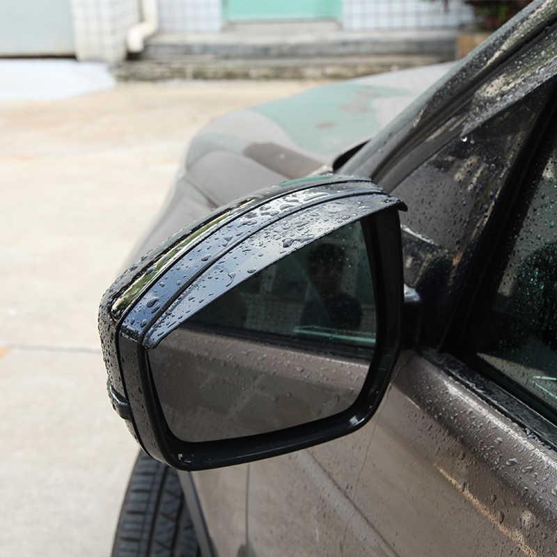 Боковое зеркало заднего вида 3D дождь брови отделка для Land Rover Дискавери Спорт для Range Rover Evoque Velar 2014-17 автомобильный аксессуар