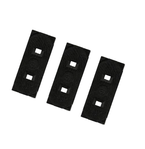 (black) Crystal Gasket Hc-49s 2feet Anti-vibration / Insulation Gasket 100pcs At All Costs