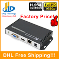 DHL Frete Grátis H.264/H264 HDMI & Vídeo VGA HD Decodificador de áudio Decodificador Para Decodificação HD Codificador De Vídeo IP De Streaming Hardware