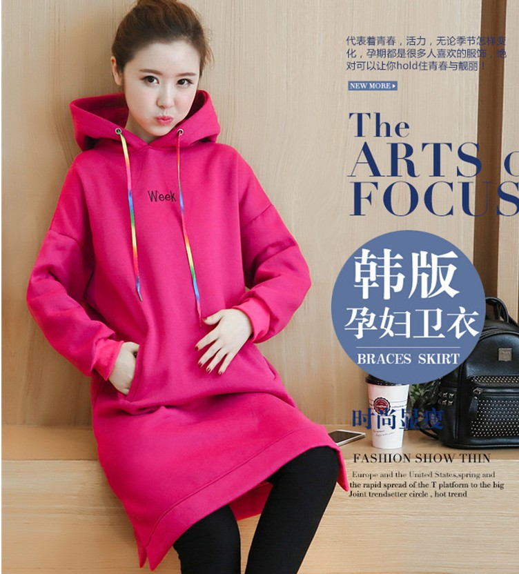 39923e833 Autumn and winter Mickey Mouse coat with cap and loose cashmere ...