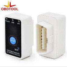 Работает на iOS и Android V1.5 ELM 327 WIFI Авто сканер ELM327 переключатель Wi-Fi код читателя OBD2 ELM327 на/ выключатель интерфейс Wi-Fi