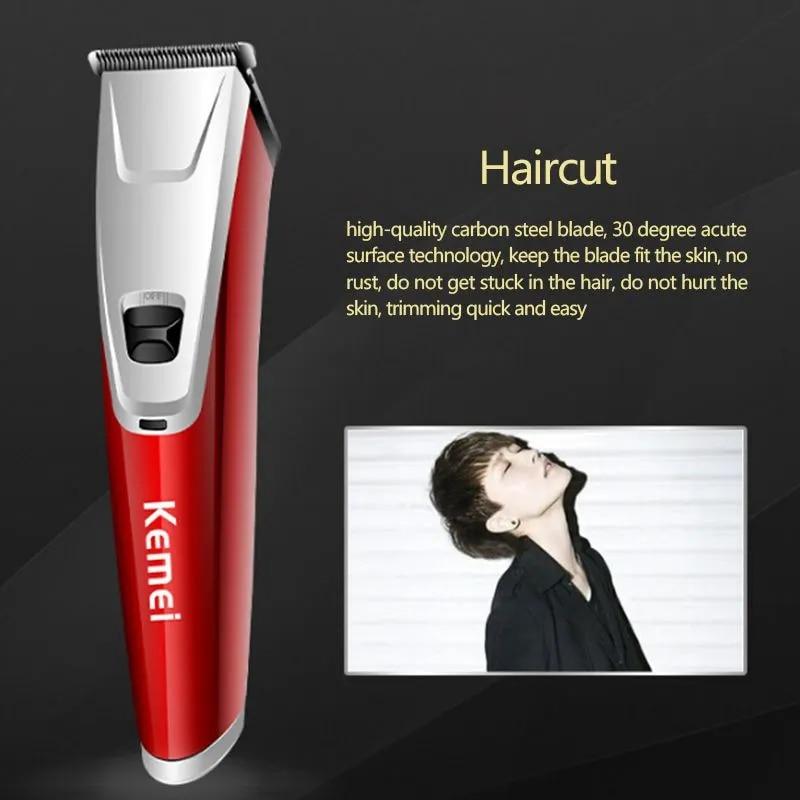 Kemei KM-842 профессиональная обновленная машинка для стрижки волос