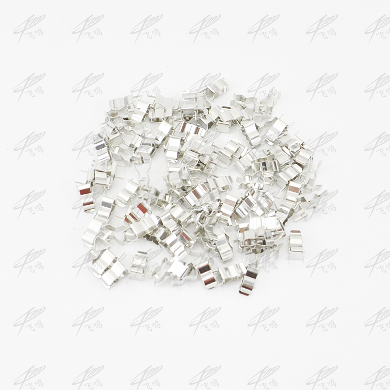 100pcs 5 20mm fuse holder clips glass quick fast blow fuses holder