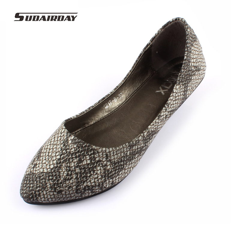 2017 new Spring flat Shoes Pointed Toe single Shoes Serpentine comfortable soft Ballerina Loafers Women Flat Heel Shoes 2016 shallow mouth pointed single flat shoes soft leather shoes flat heel shoes professional work shoes mother