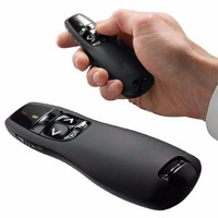 Hot Sale 2 4 GHz Red Laser Pen Wireless RF Remote Control Handheld Portable Office R400