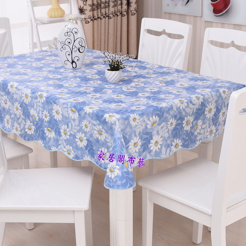 Superieur Waterproof U0026 Oilproof Wipe Clean PVC Vinyl Tablecloth Dining Kitchen Table  Cover Protector OILCLOTH FABRIC COVERING In Tablecloths From Home U0026 Garden  On ...