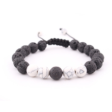 Fashion New Products Hot Sale Aromatherapy Jewelry Men and Women Natural Hand-woven Bracelet Charm Stone Accessories