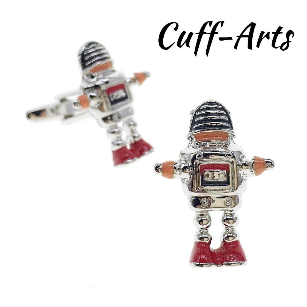 Cufflinks For Men Robot Cufflinks Mens Cuff Jewelry Mens Gifts Vintage Cufflinks Gemelos By Cuffarts C10322