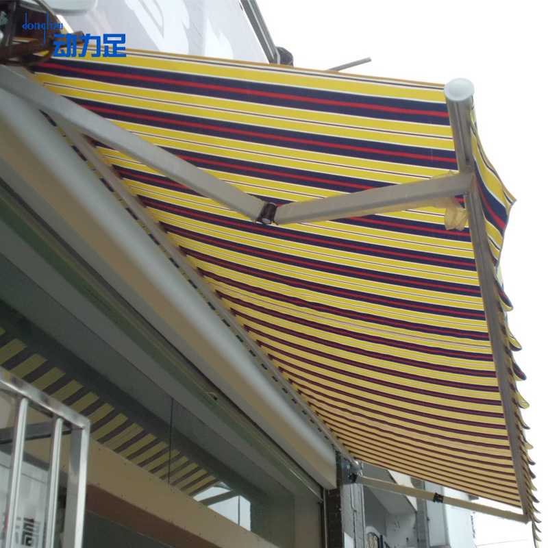 Fold Out Shade Shelters : Waterproof outdoor retractable awning canopy
