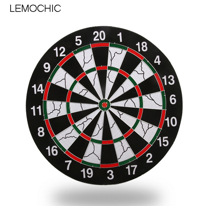 LEMOCHIC Darts Boards High-grade Double-sided Flocking Dartboard For Dart Game Darts Free shipping rowsfir dart board 6 darts set funny play dartboard soft head darts board game toy fun party accessories gambling new year gift