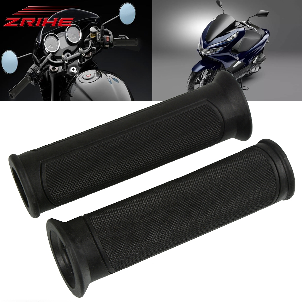 Motorcycle Accessories Rubber Handle Bar Handlebar Motorbike Hand Grips For Suzuki GSXR 600 750 1000 1100 DL 650 1000 V-STROM