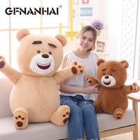 1pc 50cm cute Teddy bear plush toy stuffed kawaii Raccoon bears plush pillow for children birthday Christmas gift doll
