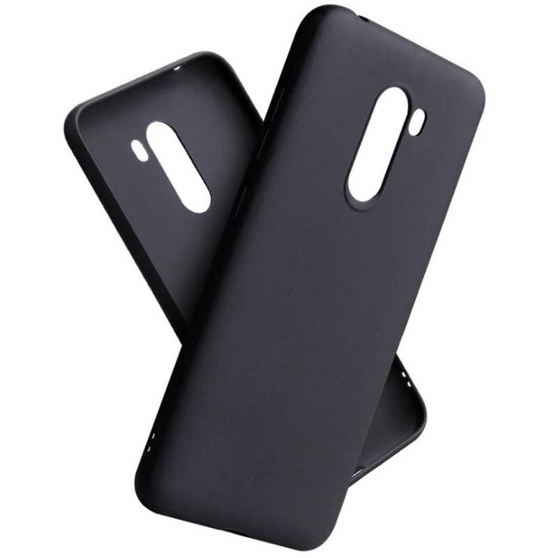 Black TPU Case For Xiaomi POCOPHONE F1 Phone Case Soft Cover Protects High Quality Cases