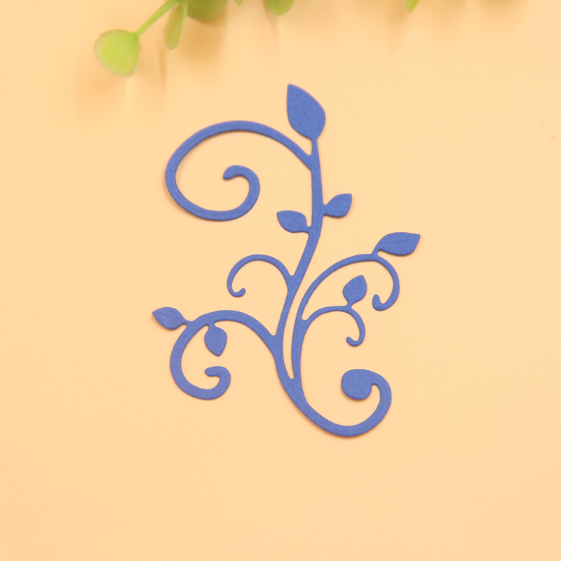KLJUYP Vine Metal Cutting Dies Scrapbook Paper Craft Decoration dies ...