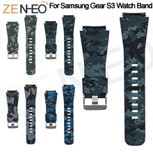 Silicone Watchband for Samsung Gear S3 Classic Frontier 22mm Watch Band For Huami Amazfit 2/2S Stratos Sport Strap Replacement 22mm silicone sport watch band for samsung gear s3 smart watch strap for xiaomi huami amazfit stratos 2 2s replacement watchband