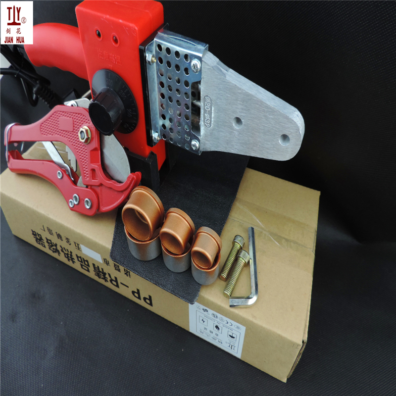 Free Shipping Apparatus for welding pipes, welding machine Maquina termofusion Paper box package Temperature controled 20-32mm free shipping 24v dc mig welding wire feeder motor single drive 1pcs