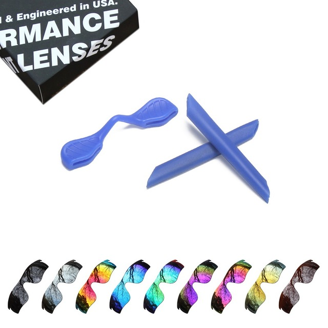 661252fb66a ToughAsNails Polarized Replacement Lenses   Blue Ear Socks Nose Pads for  Oakley RadarLock Path Sunglasses - Multiple Options