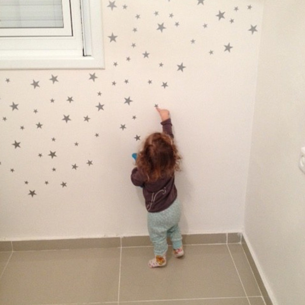 Home Decor Star Creative wall stickers Home Decor Wedding Decoration maison Self-adhesive Removable wall stickers for kids rooms