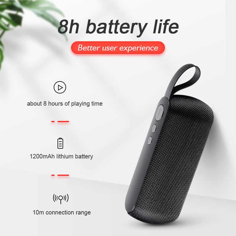 Портативная беспроводная Bluetooth Колонка SANLEPUS, стереозвук с микрофоном, tf-картой, fm-радио, AUX, MP3, уличная музыкальная колонка, звуковая панель