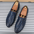 Nuevo Estilo Italiano Zapatos de Los Hombres de Lujo de la Marca Oxfords Zapatos de Cuero Genuinos de Conducción Casual Mocasines Para Hombre Mocasines Zapatos de Fiesta