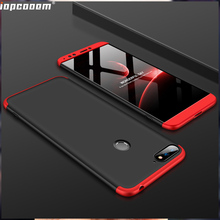 360 Full Protection Case For Huawei Honor 7A Y6 Prime 2018 Luxury Hard PC Shockproof Back Cover cases