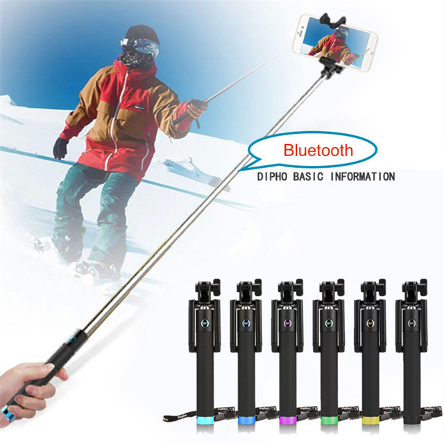 Extendable Selfie Stick Bluetooth Wireless Monopod