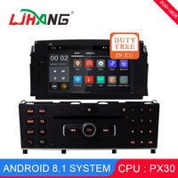 LJHANG Android 8.1 1 Din Car Multimedia Player For Mercedes Benz C200 C180 W204 2007 2010 WIFI Car DVD Player GPS Navi Headunit