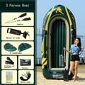 INTEX verdikte 3 persoon gebruik opblaasbare boot rubberboot vissen kajak vouwen aanval boot