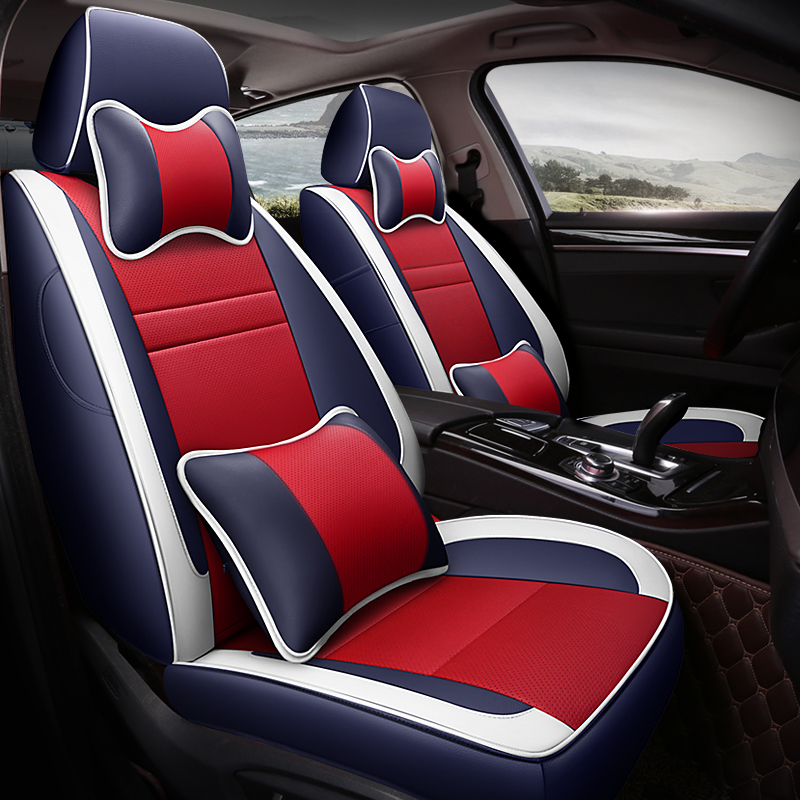 Custom Leather Car Seat Covers For Subaru Forester Impreza