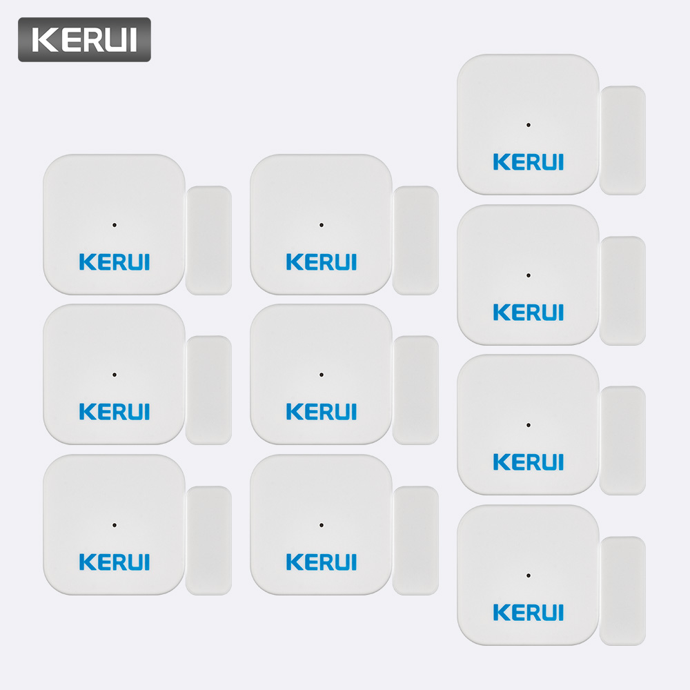 KERUI 5 ps 10 ps D028 sécurité à domicile intelligente Portable Anti-effraction alarme fenêtre porte capteur détecteur système d'alarme contrôleur
