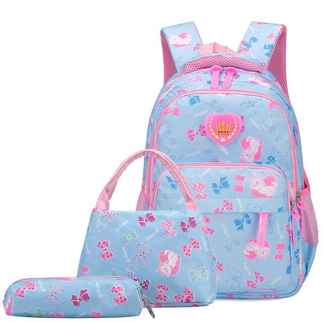 ZIRANYU Child Orthopedics Schoolbags School Bags Children Backpacks for Teenagers Girls Lightweight Waterproof School Bags School Bags