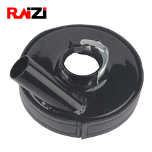 Raizi 5 Inch Metal Anger Grinder Dust Shroud Cover Tools For Concrete Marble Granite Engineered stone Grinding Dust Collection