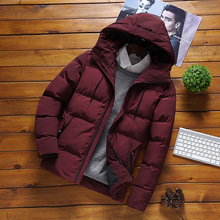 New Winter Jacket Men -15 Degree Thicken Warm Men Parkas Hooded Coat Fleece Man's Jackets Outwear Jaqueta Masculina Xmas Gift