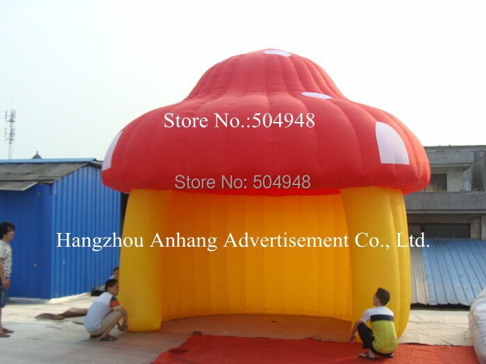 Hot Sale Inflatable Mushroom Tent ao058m 2m hot selling inflatable advertising helium balloon ball pvc helium balioon inflatable sphere sky balloon for sale
